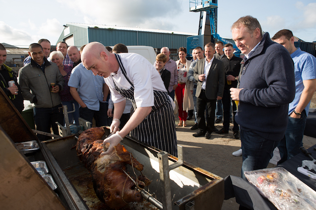 Maritime Developments celebrates 15th anniversary with workshop hog roast
