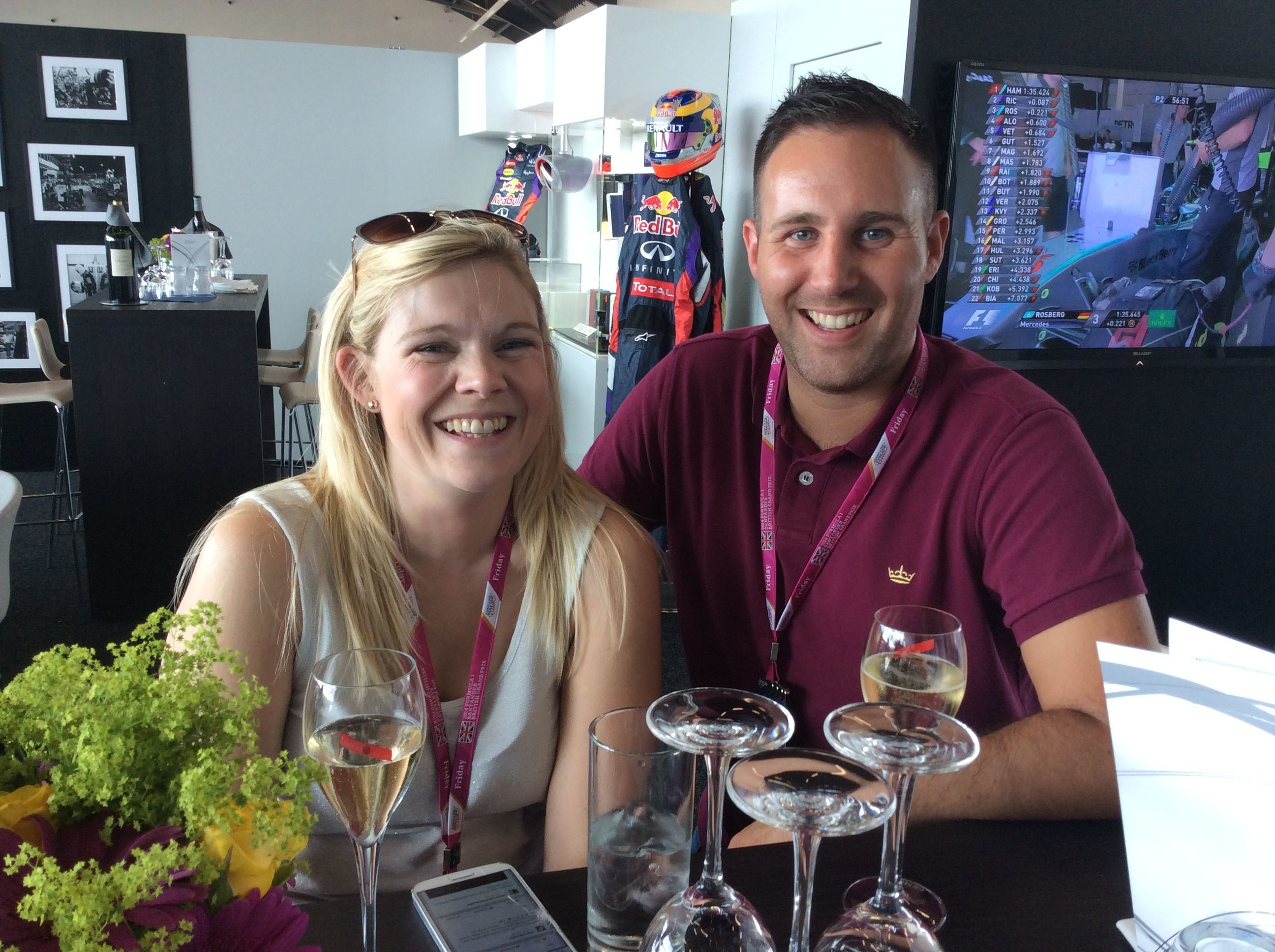 Subsea Expo winners' pit stop at British Grand Prix