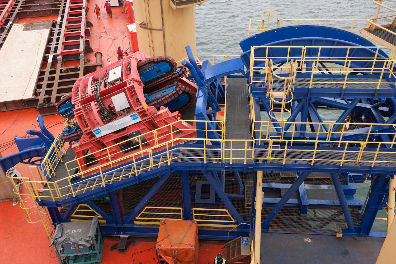 MDL Tensioner on Rever Offshore's refurbished HLS