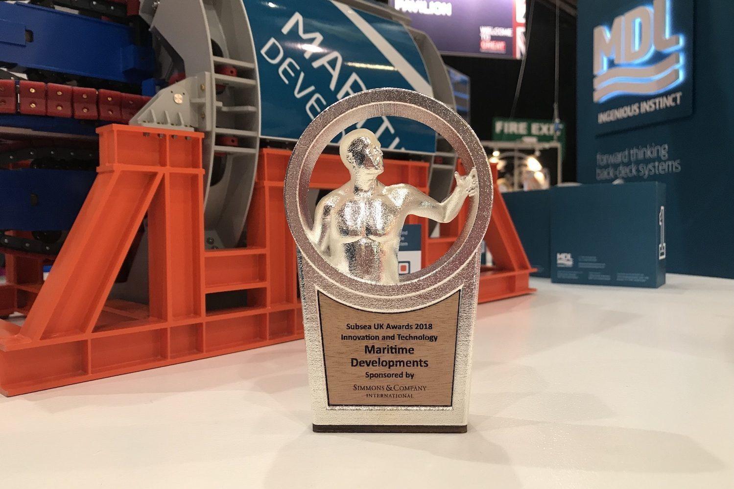 MDL Innovation & Technology Award