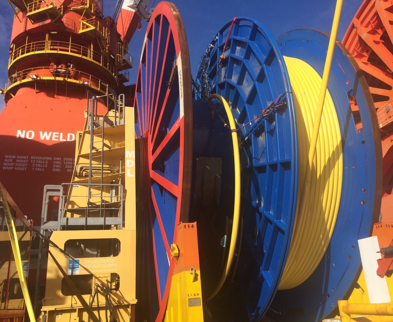 MDL Reel Drive System Gulf of Mexico