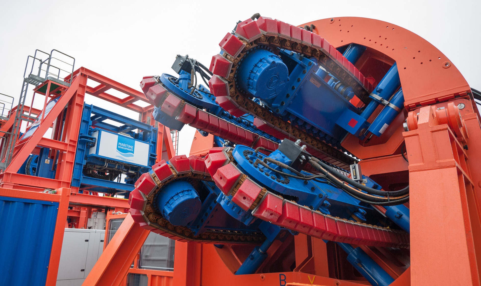 MDL 4-Track Pipelay Tensioner MDL Offshore Service