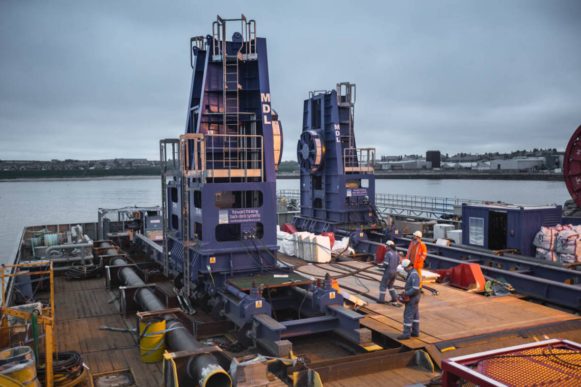 MDL Reel Drive System North Sea