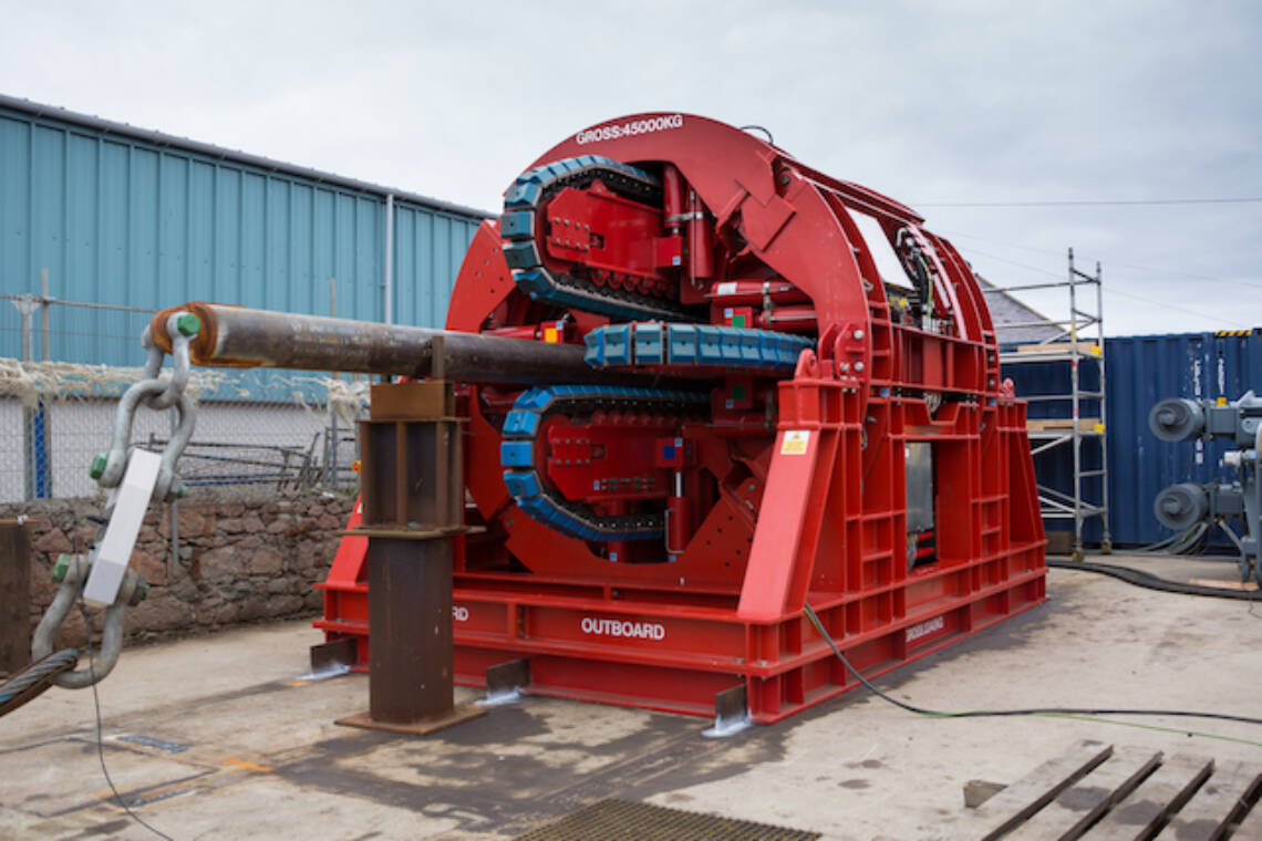 MDL 4-Track Pipelay Tensioner Subsea7