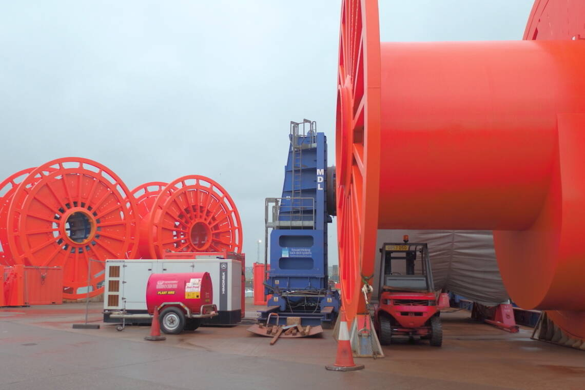 MDL Reel Drive System Marine Services