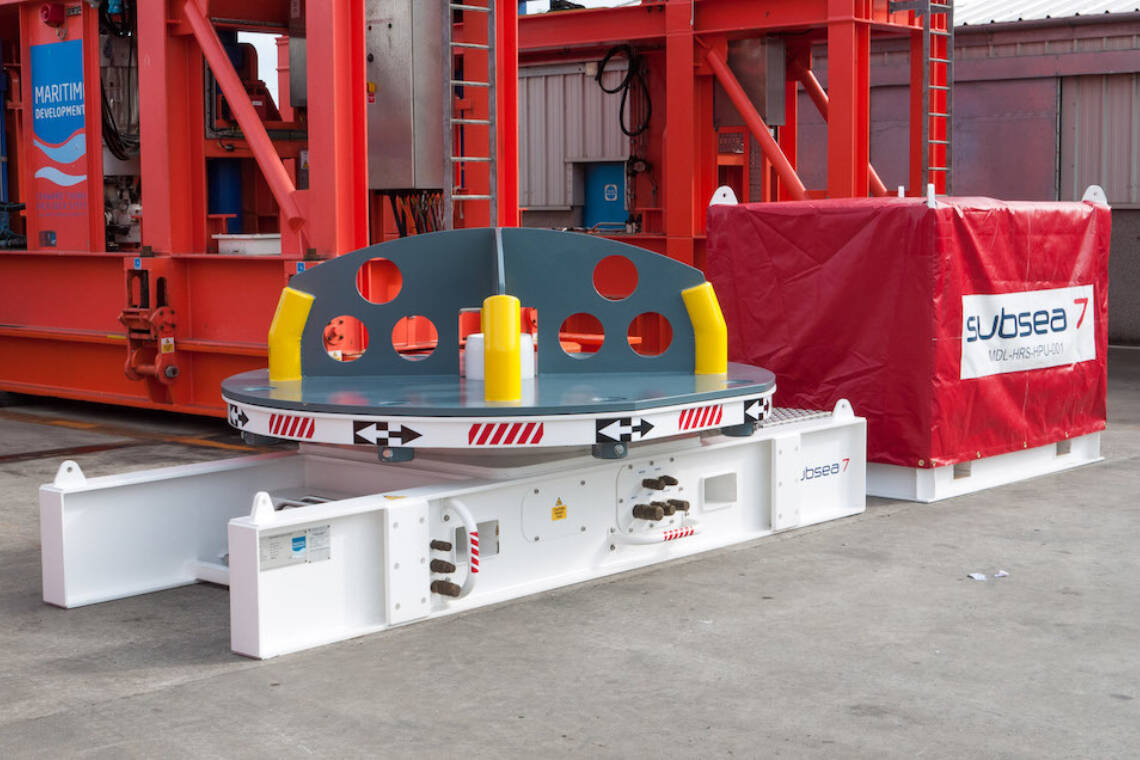 MDL Turntable Subsea 7