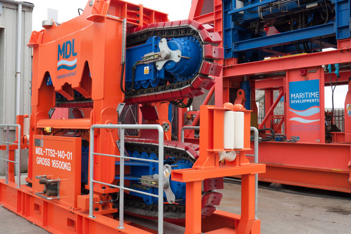 MDL 2-track Pipelay Tensioner