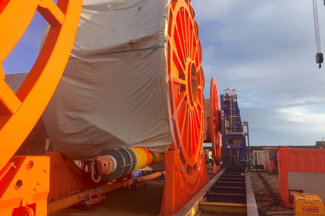 MDL Reel Drive System Transpooling Project