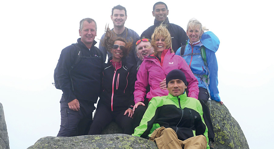 Lochnagar fundraiser for Paul Lawrie Foundation