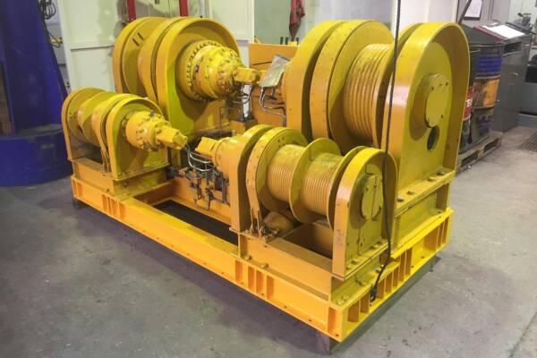 BOP winch overhaul