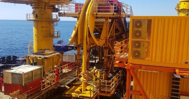 MDL Pipe lay Tensioner Offshore Service