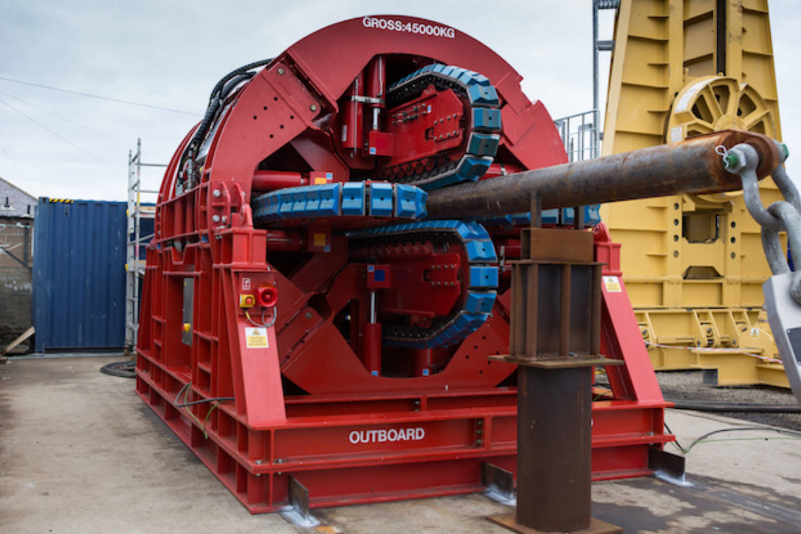 MDL 4 Track Pipelay Tensioner Subsea7