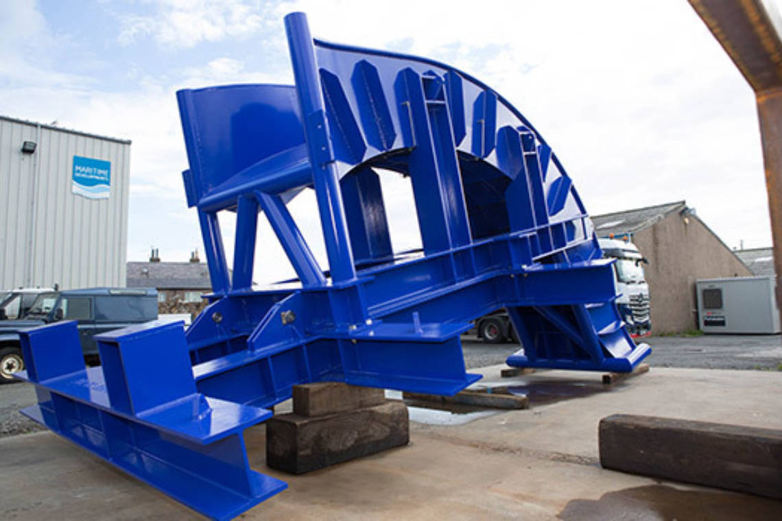 MDL 50Te/3m Overboarding Chute | Maritime Developments