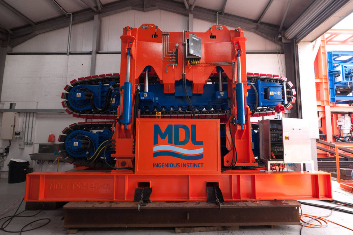 MDL Rental 2-track tensioner delivery