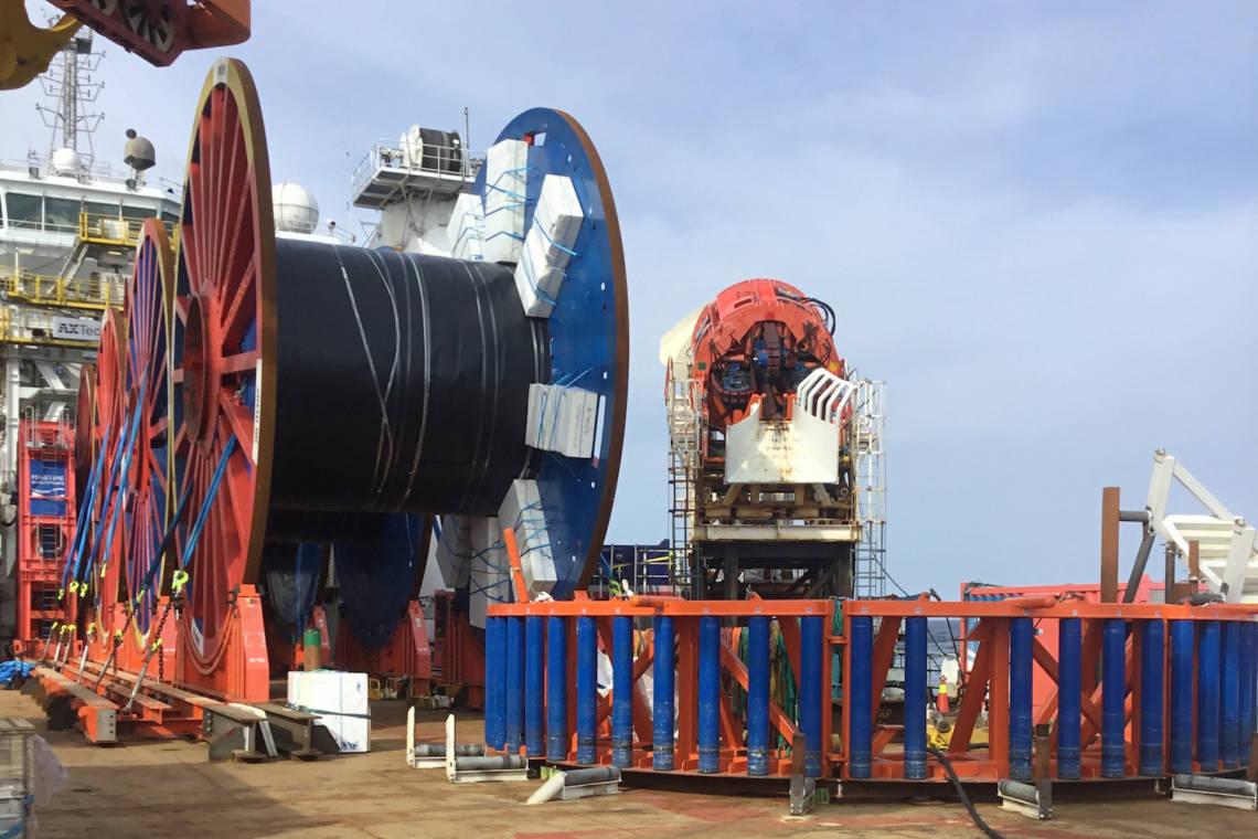 Oceaneering MDL Reel Drive System