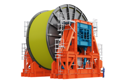 MDL Pipelay Tensioner and Reel Drive System